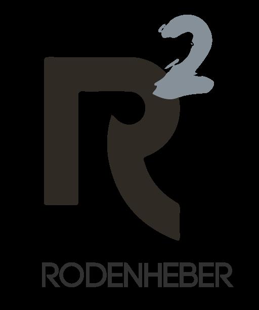 logo – rodenheber – r2 – unternehmensgruppe mit claim